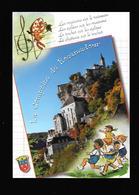 C.P.S.M. DE ROCAMADOUR 46...ILL. GERMAINE BOURET.... - Rocamadour