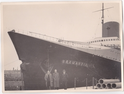 Le NORMANDIE Le Havre - Paquebot Transatlantique De La Compagnie Générale Transatlantique - Mise En Service 29 Mai 1935 - Barche