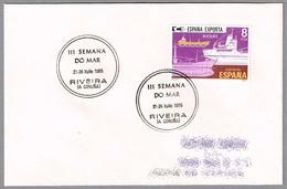 III SEMANA DEL MAR - 3rd WEEK OF THE SEA. Riveira, A Coruña, Galicia, 1985 - 1931-Hoy: 2ª República - ... Juan Carlos I