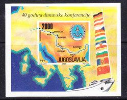 Yugoslavia 1988 Danube M/s  ** Mnh (41616D) - Blokken & Velletjes