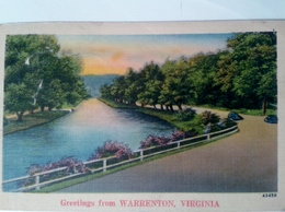 Etats-Unis  VA - Virginia Greeting From WARRENTON VIRGINIA - Etats-Unis