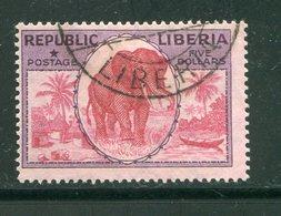 LIBERIA- Y&T N°179- Oblitéré (éléphant) - Liberia