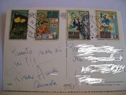 1971 - Repubblica Di S. Marino - Francobollo Personaggi W. Disney - Paperino - Archimede E Pluto Cartoni Animati Disegno - Francobolli (rappresentazioni)