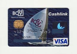 Bank Of Valletta MALTA Sailing Sports-Yacht  VISA  Expired - Cartes De Crédit (expiration Min. 10 Ans)