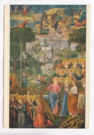 Benozzo Gozzoli, Paradiso (Affresco), Paradise (Fresco), Firenze, Unused Postcard [22633] - Paintings