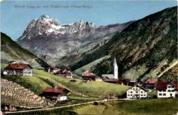 Warth Mit Widderstein - Vorarlberg (2005) * 1. 8. 1912 - Warth
