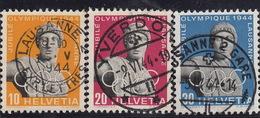 50è Du Conseil International Olympique / Série 259x-261x Mi.428y-430y -o - 1843-1852 Timbres Cantonaux Et  Fédéraux