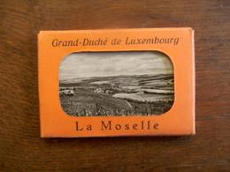 Oud    Omslagje Met 8 Stuk Fotokaartjes  LA MOSELLE  LUXEMBOURG - Luxemburg - Town