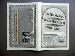 Brossura Pubblicitaria Serrande Saracinesche Serrature Tillmanns Berlino 1880 - Sin Clasificación