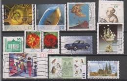 #73 Allemagne Lot Diverses Années Récents Anciens Oblitérés - Used Stamps - [7] République Fédérale
