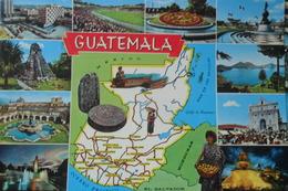 Guatemala Multi Vues Map - Guatemala