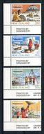 Nlle ZELANDE 1984  N° 859/862 ** Neufs MNH Superbes  C 5,25 € Faune Fauna Animaux Antarctique Géologie Biologi - Neufs