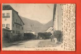 VAE-03 Martigny Ville, Place Centrale. Précurseur, Circulé 1903 Corbaz 188 - VS Valais