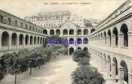 DZ - Algérie - Alger - Le Lycée (Cour Intérieure) - 1909 - Algerien
