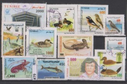 #79 TUNISIE Lot Diverses Années Récents Anciens Oblitérés - Used Stamps - Tunisie (1956-...)