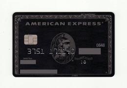 Russian Standart Bank RUSSIA Black Centurion  AMEX American Express Expired - Cartes De Crédit (expiration Min. 10 Ans)