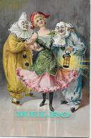 Carte Postale Gaufrée -  Pierrot, Personnage De Clown, Comédie. - Cirque