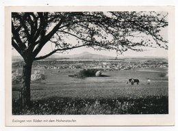 Allemagne -- EISLINGEN Von Sûden Mit Dem Hohenstaufen - Eislingen