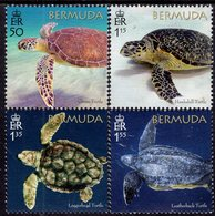 Bermuda - 2018 - Bermuda Turtle Project - Mint Stamp Set - Bermuda