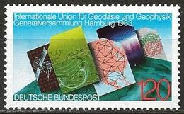 Germany 1983 Scott 1404 MNH Geodesy, Geophysics, Map - [7] Repubblica Federale