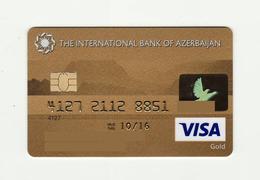 The International Bank Of Azerbaijan AZERBAIJAN GOLD VISA Expired - Cartes De Crédit (expiration Min. 10 Ans)
