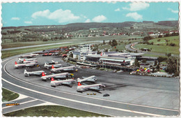 AVIATION CIVILE ~ 1960 - AVION à HÉLICES Sur AÉROPORT / FLUGHOF ZÜRICH / KLOTEN AIRPORT (aa345) - 1946-....: Modern Era