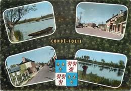 CONDÉ FOLIE - Carte Multi-vues. - France