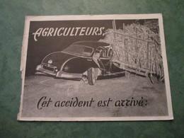AGRICUTEURS - Cet Accident Est Arrivé - Camions