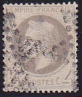 """""""Lauré"""" N° 27B Oblitéré - Voir Verso & Descriptif - - 1863-1870 Napoleon III With Laurels"""