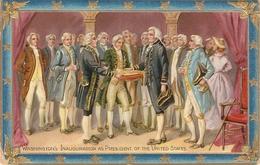 """Washington's Inauguration As President Of The Unitd States"" Tuck Wasington Series PC # 171 - Tuck, Raphael"