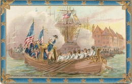 """Washington's Reception At New York"" Tuck Wasington Series PC # 171 - Tuck, Raphael"