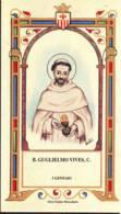 Santini Del Mese Di Gennaio, Giorno 3: Beato Guglielmo Vives, A Retro Vita Del Beato - Religione & Esoterismo