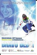 JEUX OLYMPIQUES HIVER - OLYMPICS WINTER GAMES  2010 - VANCOUVER CANADA - DEBORAH ANTHONIOZ - Jeux Olympiques