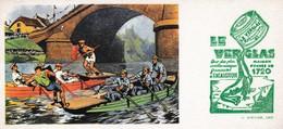 BUVARD LE VERGLAS Encaustique , Bataille Sur L'eau - Ohne Zuordnung