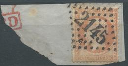 Lot N°45868  N°23/fragment, Oblit GC 2145A Lyon-les-Terreaux, Rhone (68) - 1862 Napoleon III