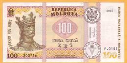 """2017 2015 Moldova ; Moldavie ; Moldau  """"100 LEI  2015""""  UNC 300716 - Moldova"""