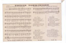PETITE TONKINOISE Chanson Villard Christine Scotto  Partition Parole Musique HJW - Musique Et Musiciens