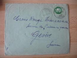 Pellevoisin Cachet Horodateur Horoplan Sur Lettre - Poststempel (Briefe)