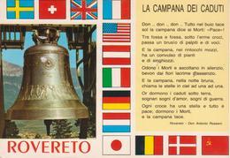 ROVERETO - LA CAMPANA DEI CADUTI E BANDIERE - Italia