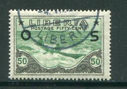 LIBERIA- Timbres De Service Y&T N°128- Oblitéré - Liberia