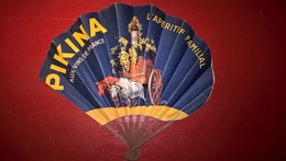 Eventail Publicitaire Amer Picon - La Marque Centenaire 1937 - Pikina L'Apéritif Familial - Eventails