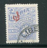 LIBERIA- Timbres De Service Y&T N°93- Oblitéré - Liberia