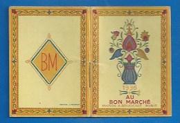 """PETIT CALENDRIER CARNET 1936 - PUBLICITÉ """"AU BON MARCHÉ"""" MAISON BOUCICAUT, PARIS - Small : 1921-40"""