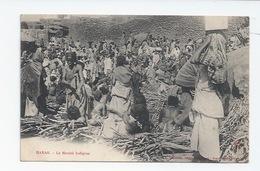 AFRIQUE - ETHIOPIE -  HARAR - SCENE DE MARCHÉ - VENTE DE ROSEAUX - Ethiopie