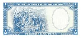 CHILE P. 134Aa 1/2 E ND UNC - Chili