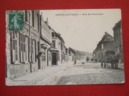 """62 - HENIN - LIETARD - """" RUE DE DROCOURT """" - ATTELAGE - VOIR LES SCANS ... - Other Municipalities"""