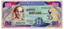 JAMAICA 50 DOLLARS 2012 COMMEMORATIVE Pick 89 Unc - Jamaica