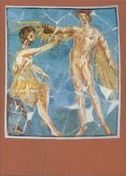 Bad Homburg Vor Der Höhe Saalburgmuseum - Wandmalerei Dädalus Und Icarus 1970 - Bad Homburg