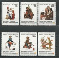 COMORES Scott 561-566 Yvert 378-383 (6) ** Cote 9,50 $ 1982 - Comores (1975-...)