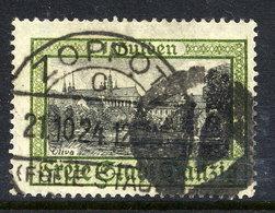 DANZIG 1924 1 G.  Oliva With Cork Cancellation Of Zoppot  Michel 207 - Danzig